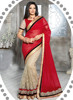 Saree frock style designs