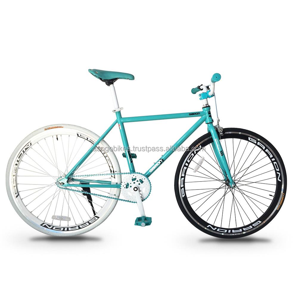 Garion 700c Fixie Fixed Gear Bike Turquesa Con Blanco - Buy Product ...