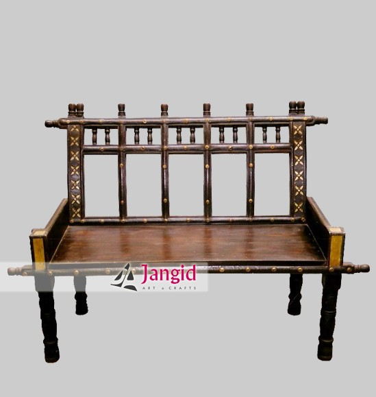 Indian Heritage Style Wooden Living Room Sofa Buy Solid Wooden Furniture Product On Alibabacom