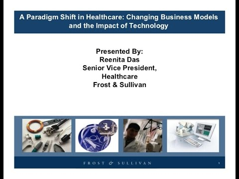 A Paradigm Shift in Healthcare Changing Business Models and the Impact of Tech, global healthcare