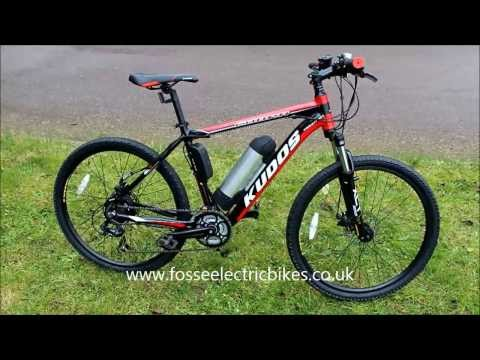 ebike electric bike review MTB Kudos Cobra electric mountain bike
