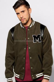 Custom American Football Jackets Embroidered Varsity Jacket - Buy ... eb4cd4945