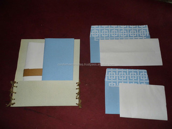 correspondence stationery sets with custom made letter writing paper and matching envelopes for gifting
