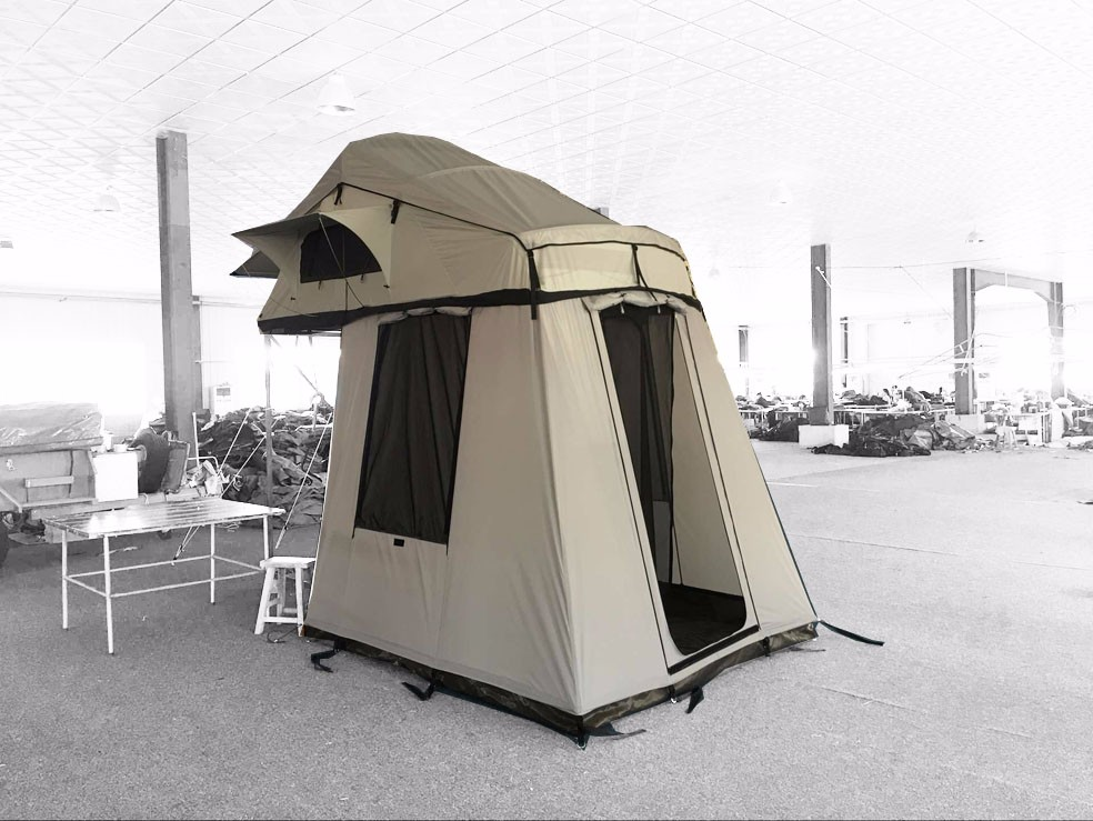 Overland With Awning Portable Car Roof Top Tent For Sale