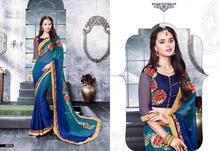 Color Combination Indian Cotton Silk Saree / Indian Color Combination Cotton Silk Saree