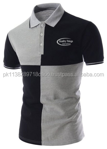 Check Style Branded Slim Fit Anti Bacterial/Custom Polo T Shirt