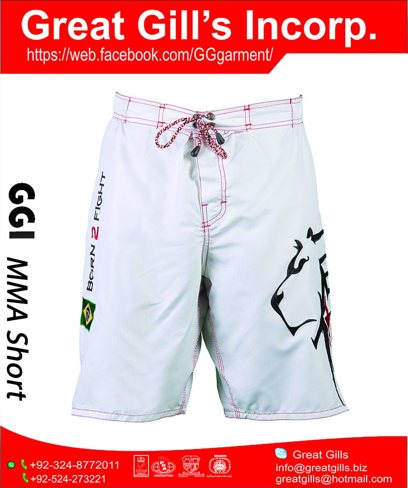 MMA martial art wear / muay thai / boxing MMA short HIGH QUALITY