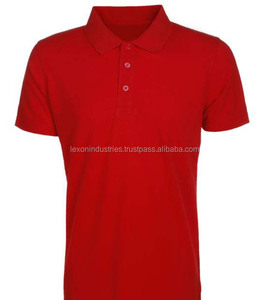 Red Polo T shirt 100%Cotton Pique