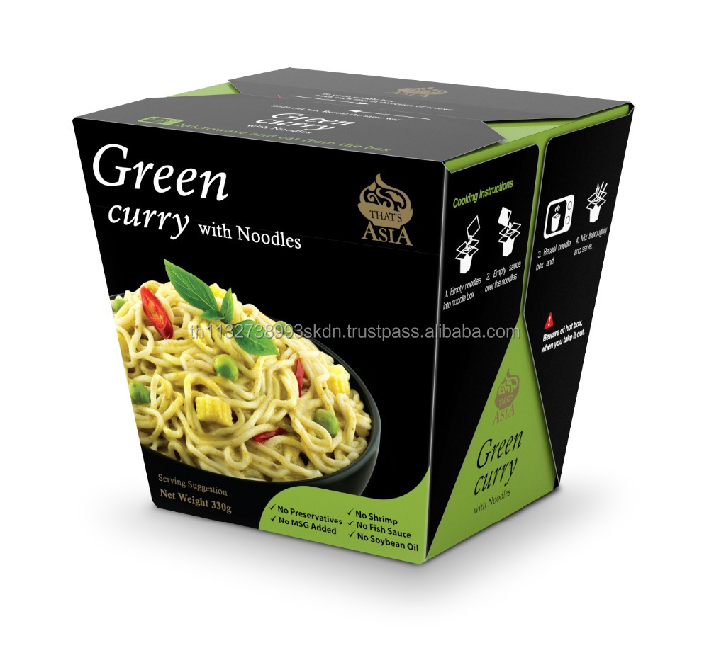 That's Asia: Green Curry With Noodles