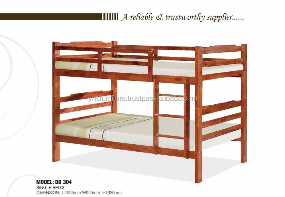 Modern Natural color children bunk bed