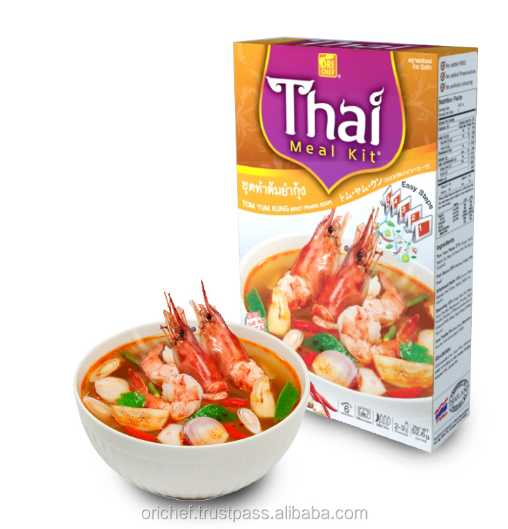 Tom Yum Kung Meal Kit from Thailand