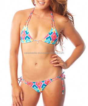 String Beach Push Up Bikinis Swimsuit Bathing Suit For Women - Buy ... 988f029409d5