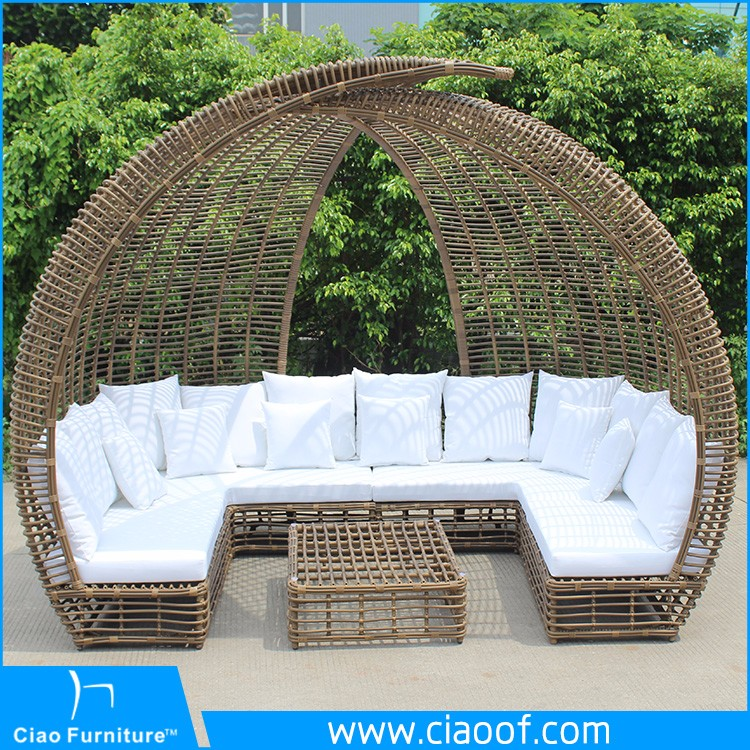 Factory Customized Patio Synthetic Rattan Outdoor Furniture