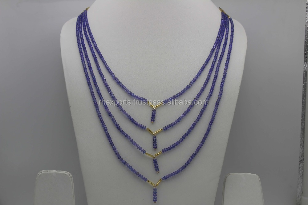 Tanzanite Plain Beads Jewelry