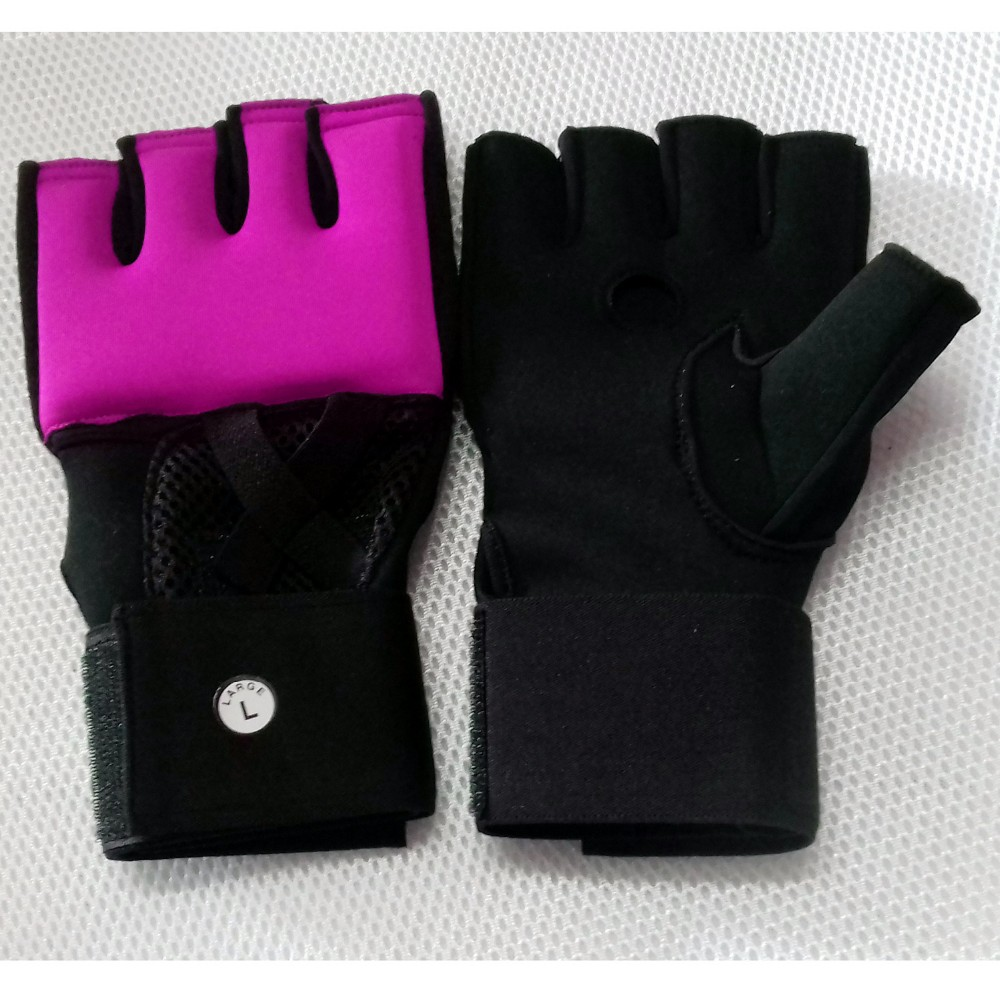 Pink GEL PADDED PROWRAPS Inner Hand Wrap Gloves MMA Boxing Wrist Fight Pair AASI ENTERPRISES