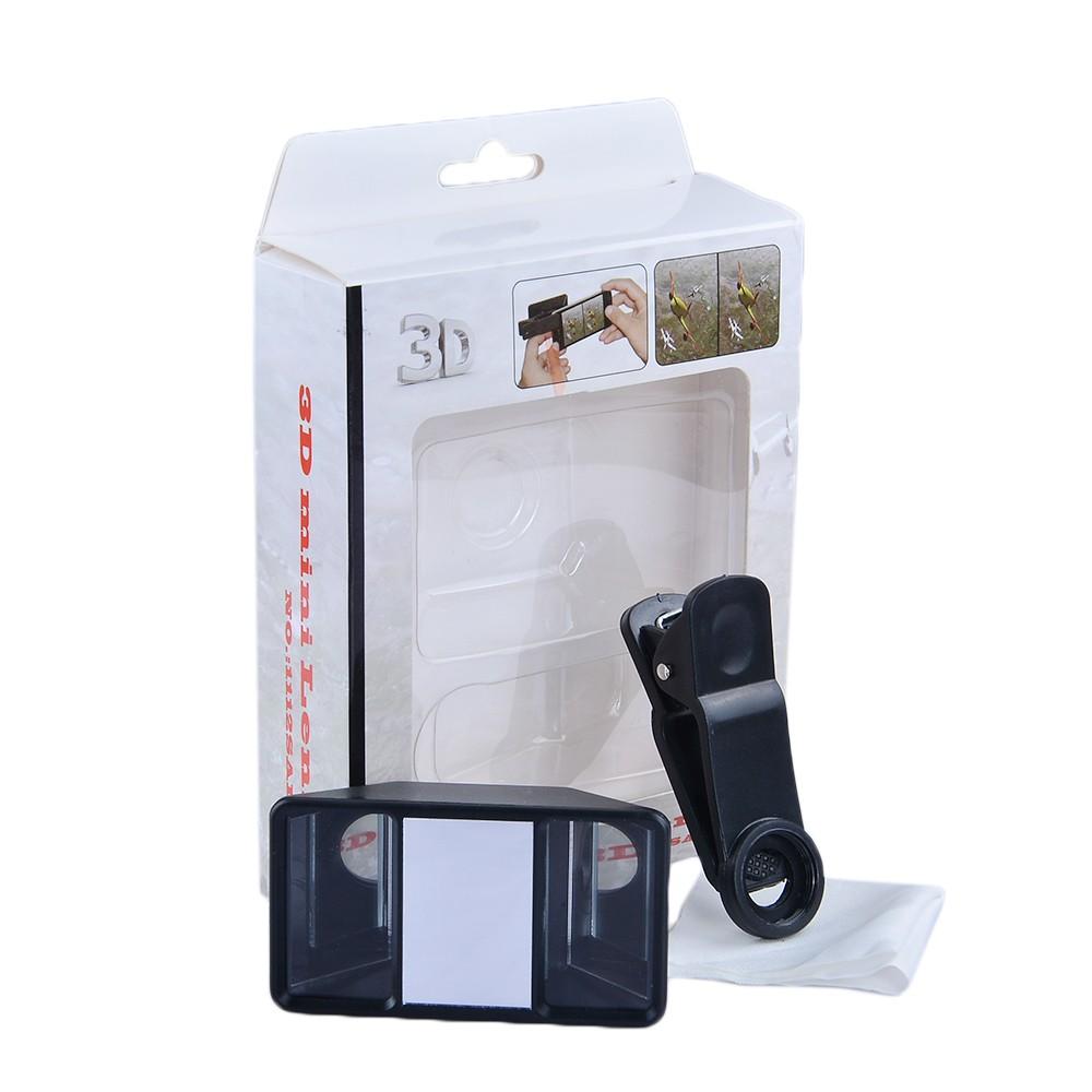 Apexel 3d Mini Lens,Universal Stereoscopic Phone Lens 3d
