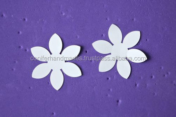 Die cut handmade paper flowers for art and craftsscrapbooking die cut handmade paper flowers for art and crafts scrapbooking greeting cards makers mightylinksfo
