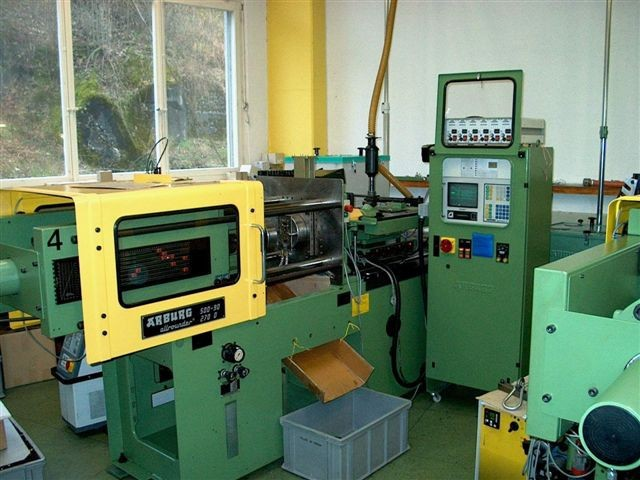 Used Injection Moulding Machines Arburg Allrounder 270 D-500-90 - Buy  Injection Moulding Machines Product on Alibaba com