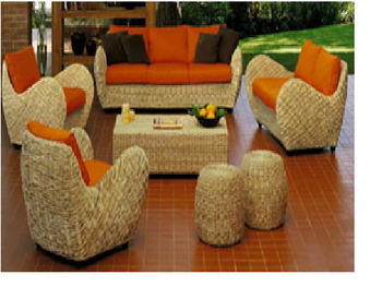 Remarkable Round Arm Water Hyacinth Sofa Set Full Sofa Set For Living Room Handicraft From Viet Nam Buy Water Hyacinth Sofa Set Natural Rattan Sofa Ncnpc Chair Design For Home Ncnpcorg