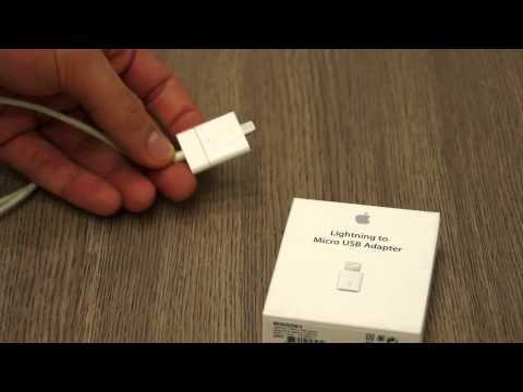 Apple 30 pin to Lightning Adapter and Micro USB to Lightning Adapter Review - iGyaan