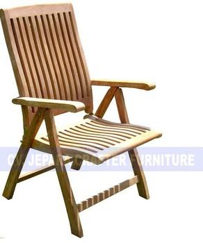 Teak Outdoor Furniture   Garden   Pool   Beach   Wave Reclining Steamer  Chairs Dorset