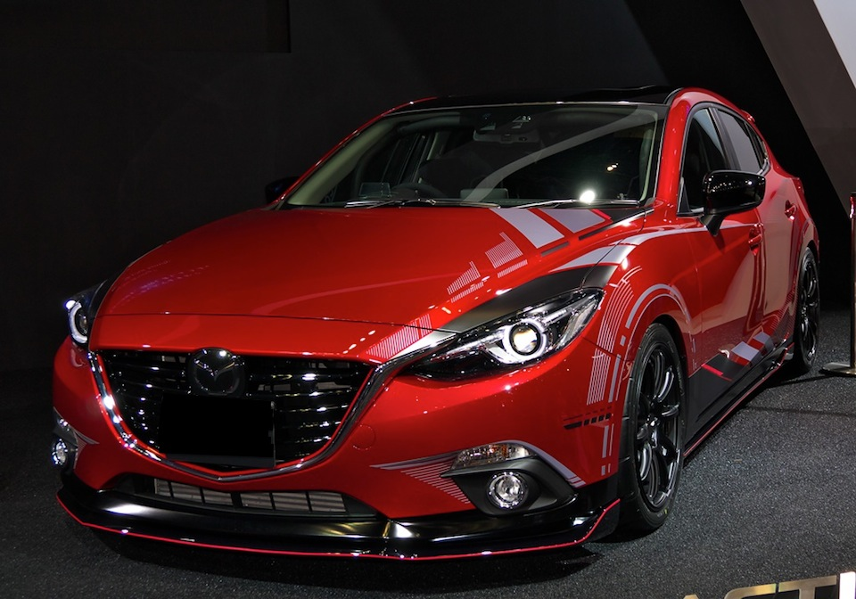 New Body Kit For 2014 Mazda 3 In High Quality Abs