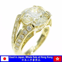A wide variety of luxury diamond engagement ring at Hong Kong store