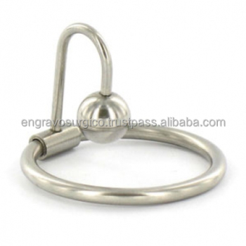 Glans ring with sperm stopper
