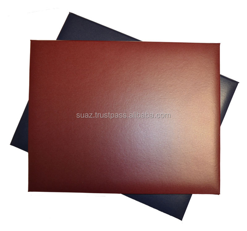 Leather Certificate Folderleather Certificate File Cover