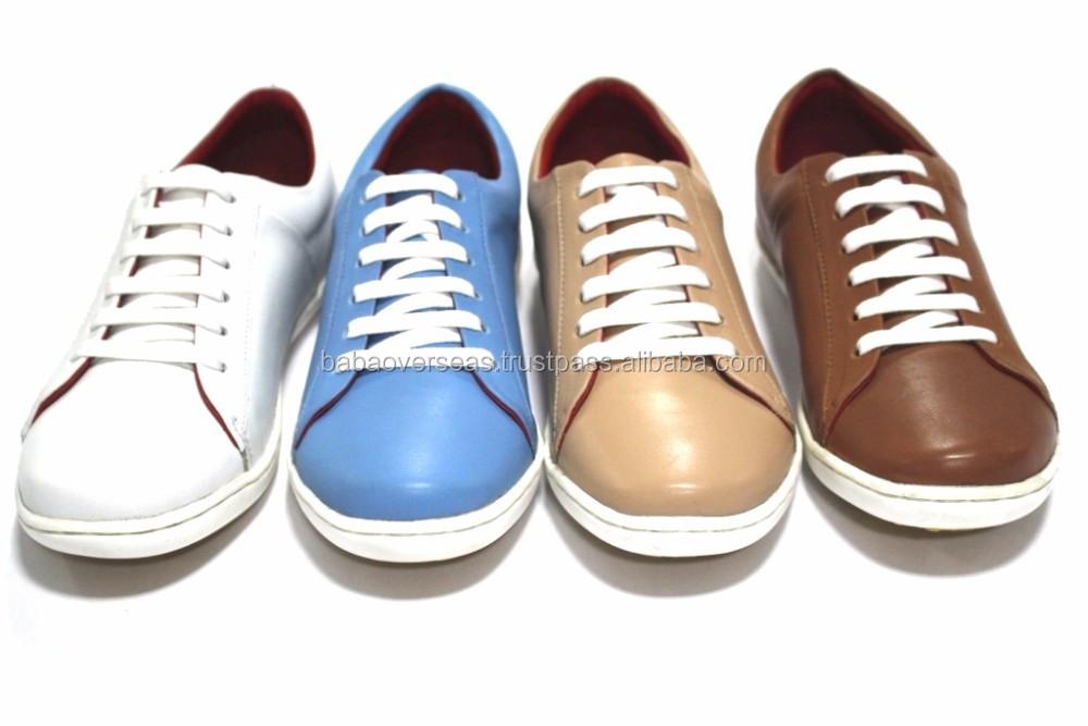 Glammer Style Ladies Leather Sneaker