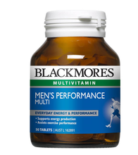 Blackmores Mens Performance Multi Vitamin and Mineral 50t