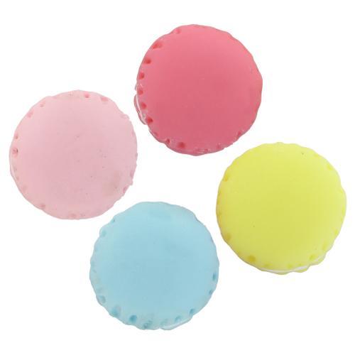 alimentaire de rsine cabochon macaron dos plat solide couleur plus de couleurs pour le choix 15x13mm - Acheter Colorant Alimentaire