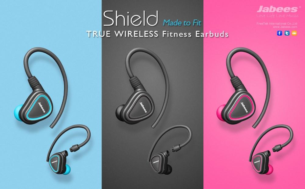9d315f5d6a5 Jabees Removable Sports Sweatproof Mini True Wireless tws Bluetooth Earbuds  with Charging Case