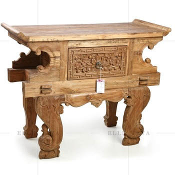 Antique Old Wood Console Table Furniture Hand Carving - Buy Teak Wood Root  Furniture,Reclaimed Teak Wood Furniture,Wooden Console Product on ...