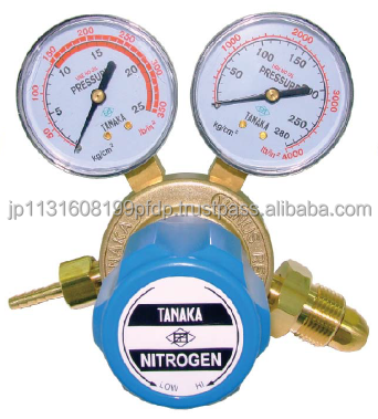 Easy to use nitrogen gas regulator for industrial use made in thailand
