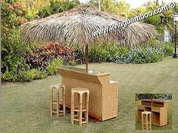 Bamboo Tiki Bar Umbrella Bar