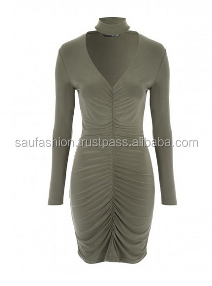 High quality viscose evening Ladies party dress