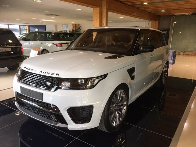 LAND ROVER RANGE ROVER SPORT SVR CARBON EDITION SUPERCHARGED 550HP (2017) BRAND NEW ref.1590