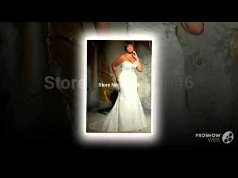 Vestidos Noivas Custom Made Sexy Romantic Beading Lace Mermaid Plus Size Wedding Dress Bri