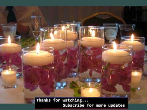 Centerpieces & Candlescapes Collection | Candle Centerpieces