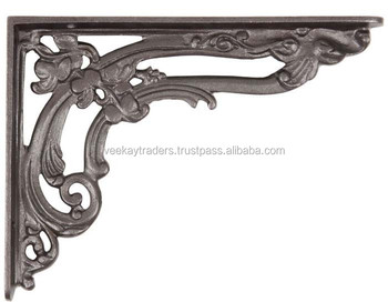 iron wall bracket cast iron shelf brackets antique decorative brackets