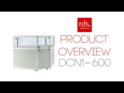 DCN1-600 Glass Jewellery Display Counter