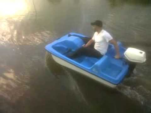 GoTomGo 7hp pedal boat test drive