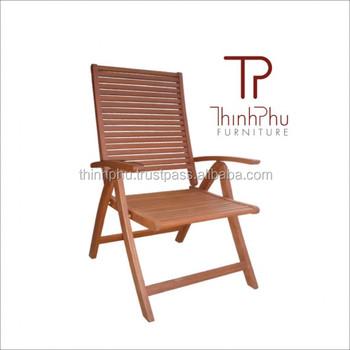 ACAMEN - POSITION CHAIR - high quality outdoor furniture - acacia wood