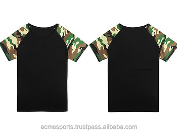 camouflage T shirts - army green t shits- Custom Crew O Neck Camouflage  Rotary Printing dfca84377f8