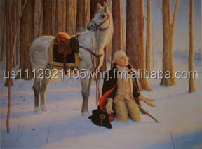 George Washington's Prayer art print