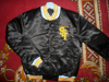 Mens Plain Baseball Varsity Jacket Satin Material Jacket