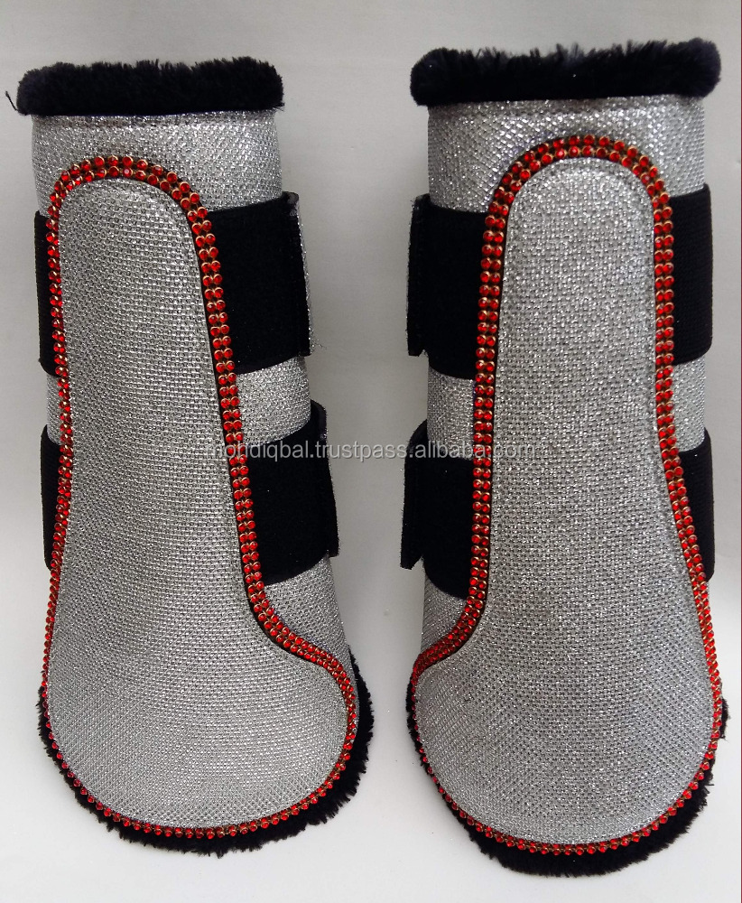 SPARKLE FANCY DRESSAGE FLAT BOOTS