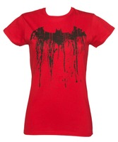 Red And Black Printed T-Shirts