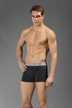 Es 1910 Men s Underwear Modal Boxer Waist Band Black White Grey 3pcs ... 85c7c82e71c6